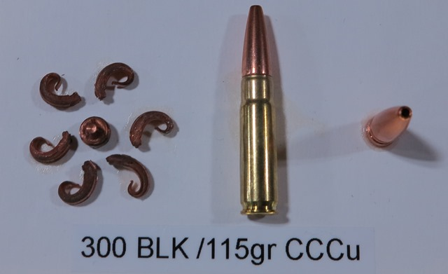 Copper bullets can be inhumane